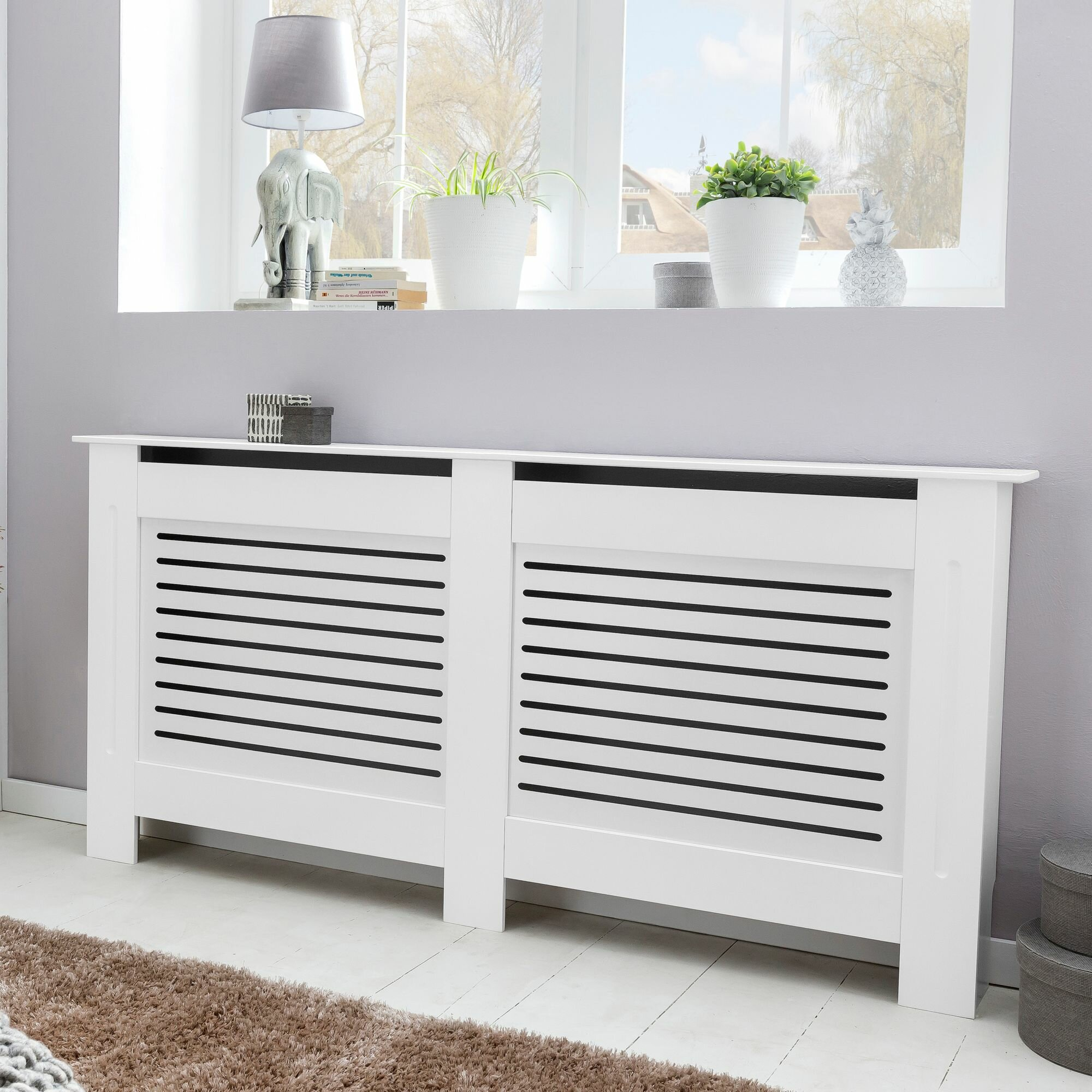 Belfry Heating Janette Medium Radiator Cover | Wayfair.co.uk
