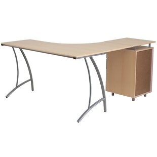 Nystead L-Shaped Corner Desk by Latitude Run Savings