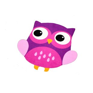 Owl Purple Rug by Zala Living