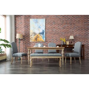 Tessio 6 Piece Dining Set by Bungalow Rose