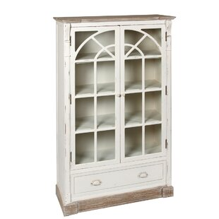 Country Solid Wood China Cabinet