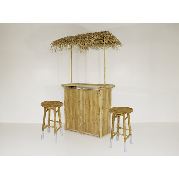 Astounding Outdoor Tiki Bar Stools Wayfair Gmtry Best Dining Table And Chair Ideas Images Gmtryco