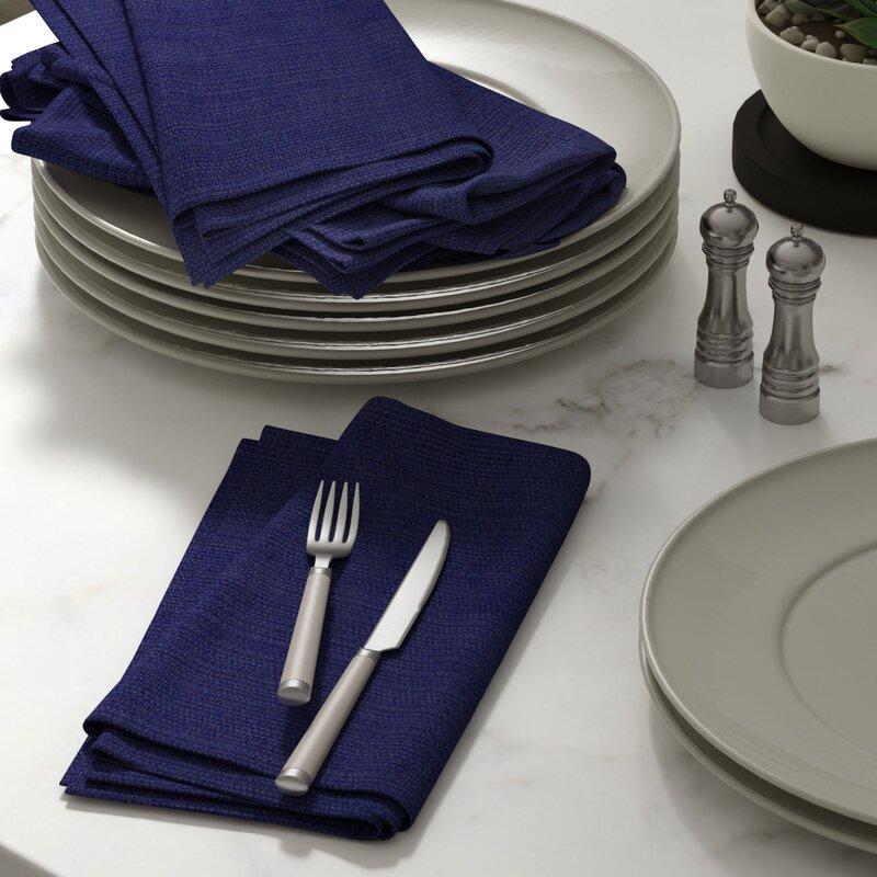 Nautical Napkins Set of 8 Washable Reusable Cotton Table Linens