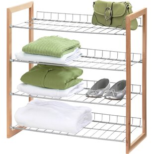Online Reviews 4 Pair Shoe Rack By Honey Can Do