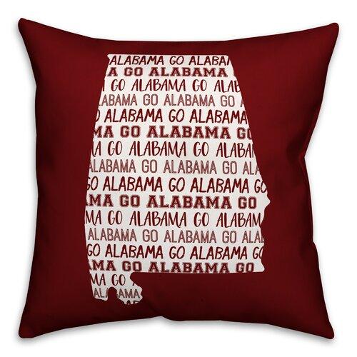 College Covers ALASH Alabama Printed Pillow Sham