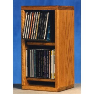 Wood Shed 200 Series 28 CD Multimedia Tabletop Storage Rack Image