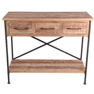 Mccullough 3 Drawer Console Table