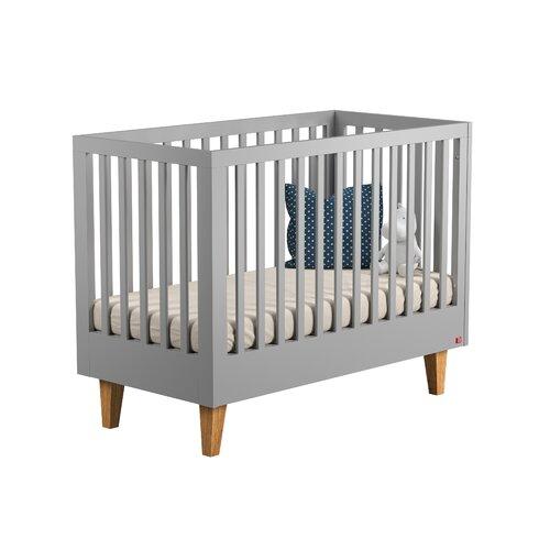 Babybett Danna   Kinderzimmer > Babymöbel   Grau   Eichenholz   Harriet Bee