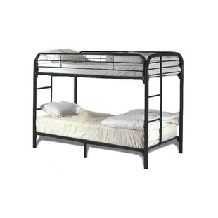 Swanson Elegant Metal Based Twin over Twin Standard Bed