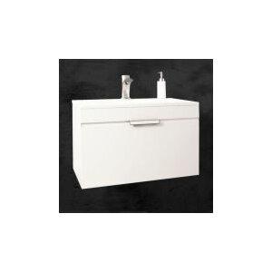 Sanitti 61 cm Wandmontierter Waschtisch Savona mit Armatur