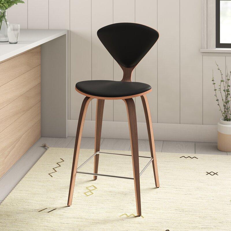 Prime Wisner Genuine Leather Bar Counter Stool Bralicious Painted Fabric Chair Ideas Braliciousco