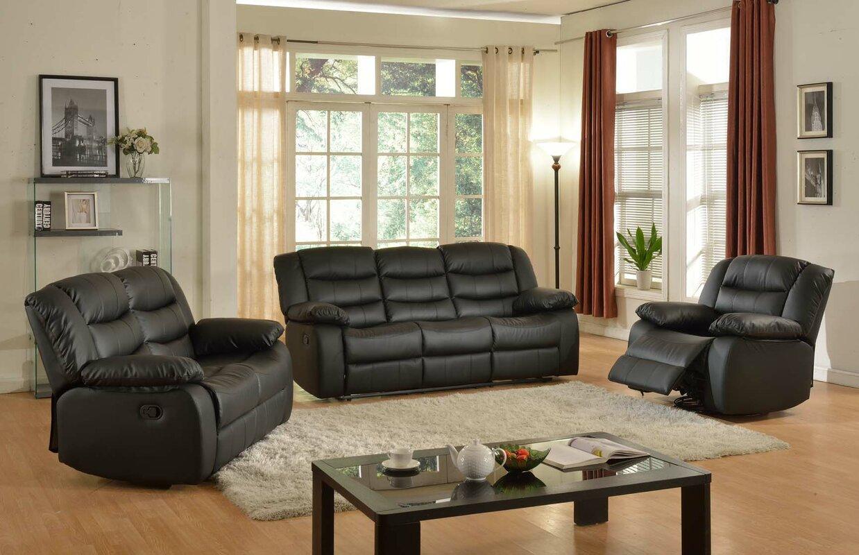 Casta 3 Piece Living Room Set