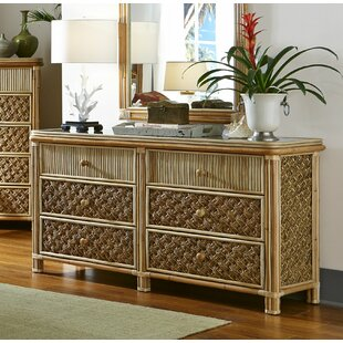 Bay Isle Home Jovani 6 Drawer Double Dresser