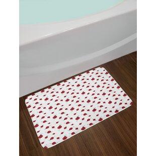 Ladybug Ladybugs Bath Rug