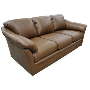 Salerno Leather Sofa by Omnia Leather