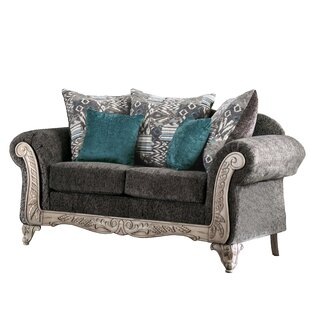 Shop Spiker Loveseat by Astoria Grand