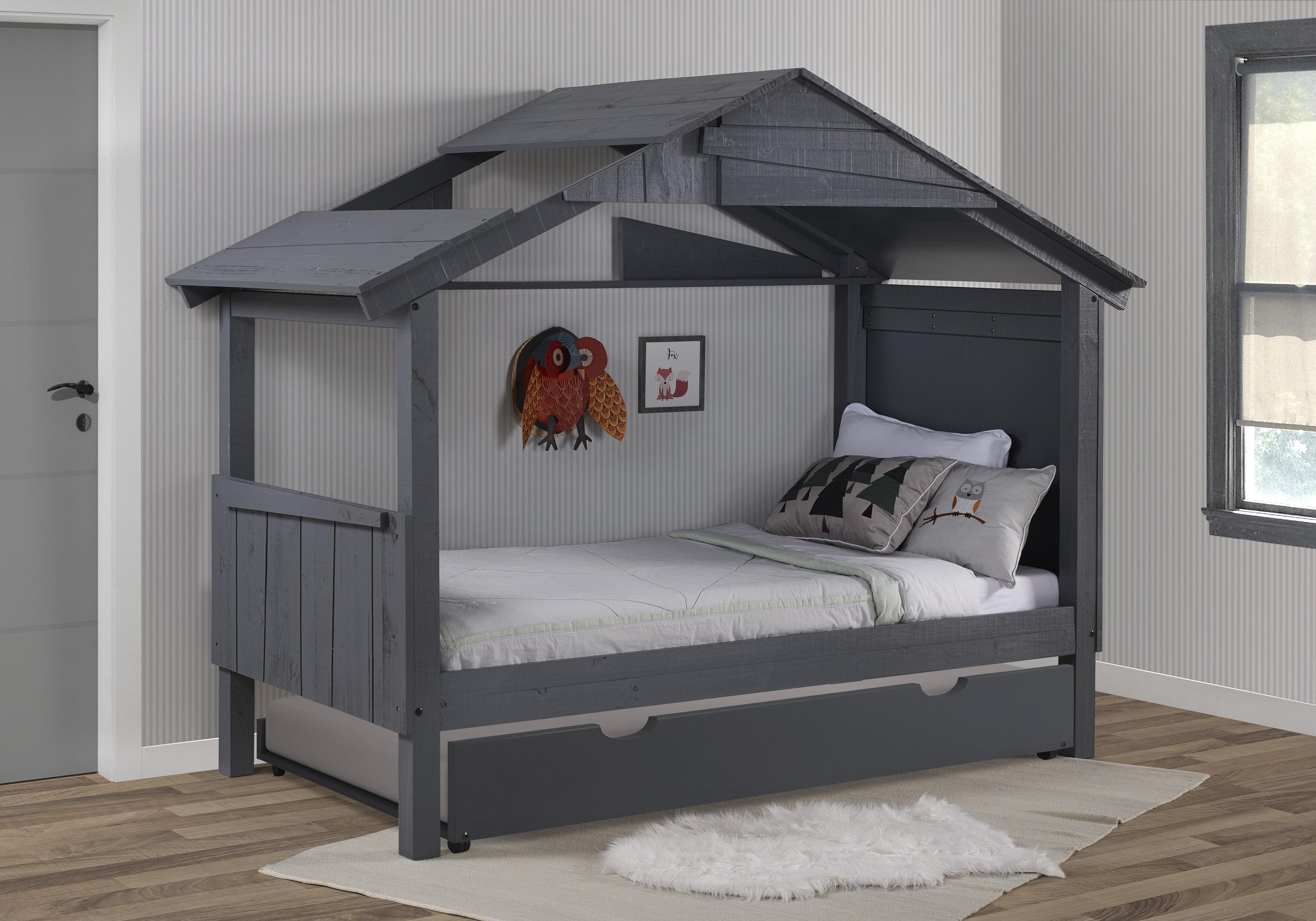 Harriet Bee Daulton Low Loft Twin Bed