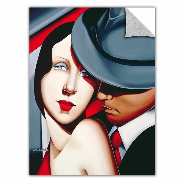 ArtWall ArtApeelz \'Adam and Eve, Gangster Study\' by Catherine Abel ...