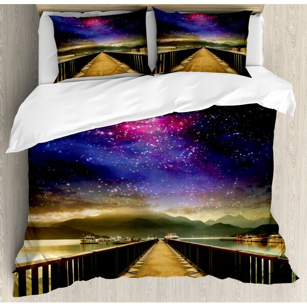 East Urban Home Universe Duvet Cover Set