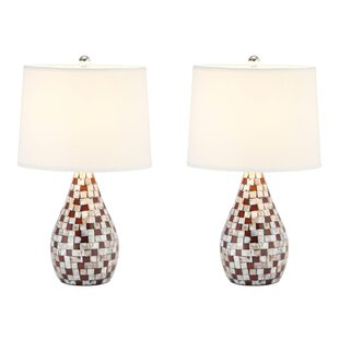 Carmelo Mother Of Pearl 19.25 Table Lamp (Set of 2)