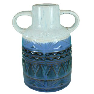 2 Tone Ceramic Vases Wayfair