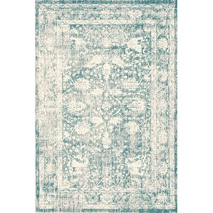 Trumbull Blue Rug by Charlton Home