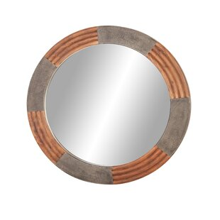 Online Reviews Laforest Rustic Log Cabin-Inspired Bathroom/Vanity Mirror By Williston Forge