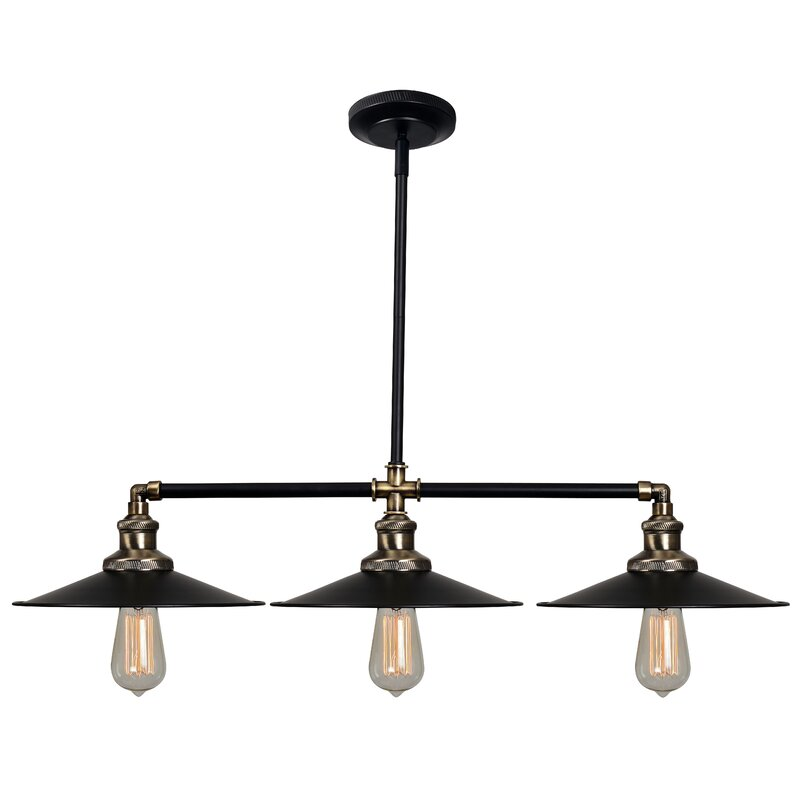 Dobson 3-Light Kitchen Island Pendant