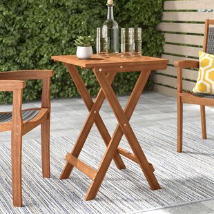 Arianna Folding Bistro Table