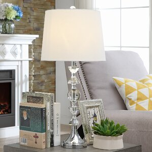 Glass & Clear Table Lamps You\'ll Love | Wayfair