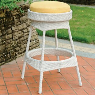 Enno Patio Bar Stool with Cushion