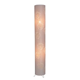 Chaima 120cm Column Floor Lamp by World Menagerie