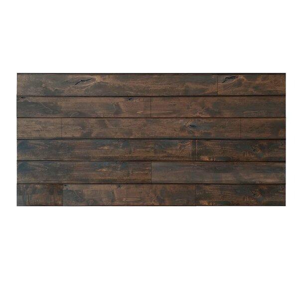 Creativeentryways 24 X 48 Solid Wood Wall Paneling In Espresso Wayfair
