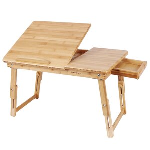 Delightful Bamboo Lap Desk Bed Serving Breakfast Tray