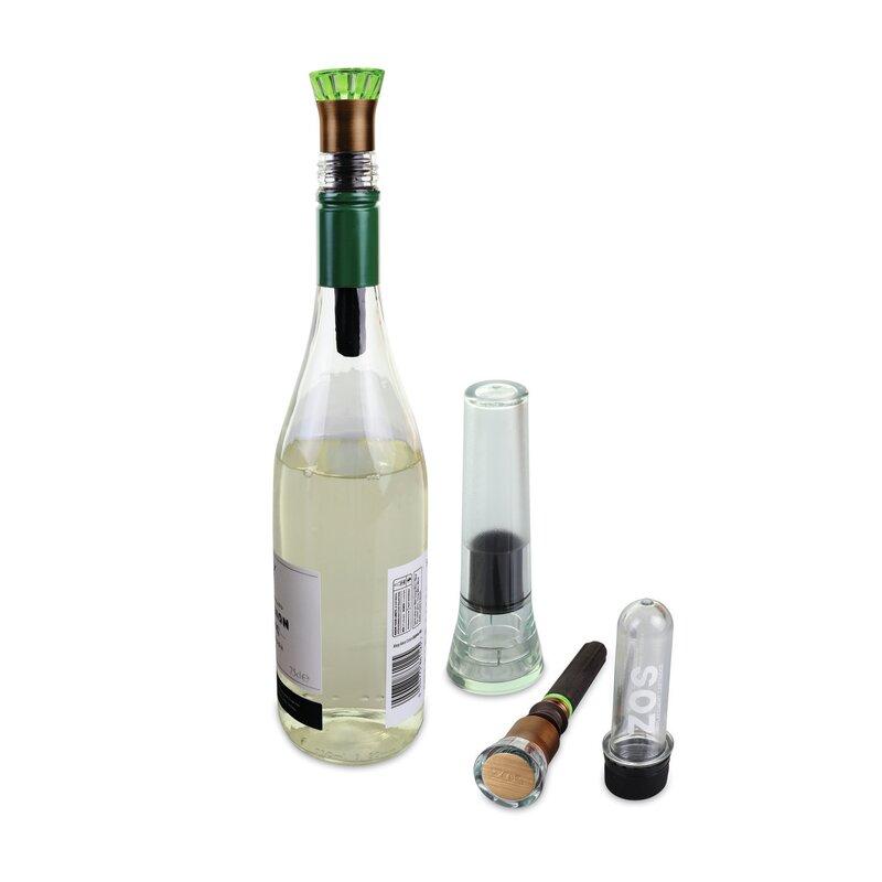 ZOS Halo Wine Vacuum Pump Reviews