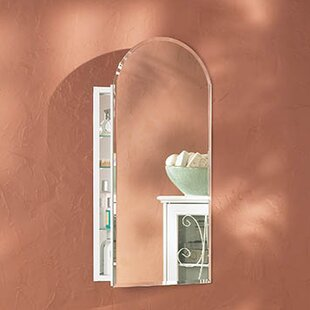 Look for Metro 15.13 x 31.25 Recessed or Surface Mount Medicine Cabinet By Jensen