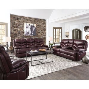Three Posts Washington Reclining Configurable Living Room Set Image