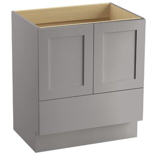 Poplin? 30 Vanity with Toe Kick, 2 Doors and 1 Drawer by Kohler