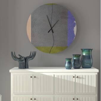 Orren Ellis Oversized Donata Wall Clock Wayfair