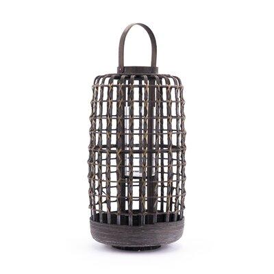 "Bamboo Lantern Coaster Nj-08810-2516 Size: 22.4"" H X 9.8"" W X 9.8"" D"