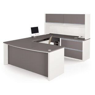 Aurea 1 Piece U-shaped Desk Office Suite