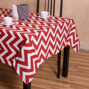 Captivating Dakotah Square Cotton Tablecloth
