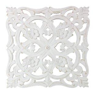 White Medallion Wall Decor Wayfair