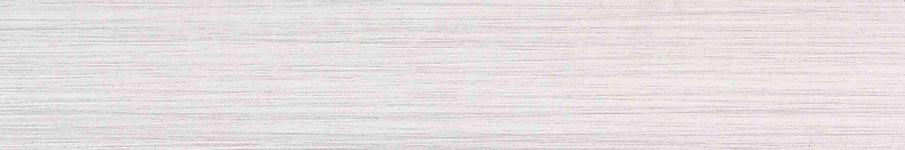 Fabrique 4'' x 24'' Porcelain Fabric Look/Field Tile in Blanc Linen