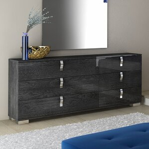 Salerno 6 Drawer Double Dr..