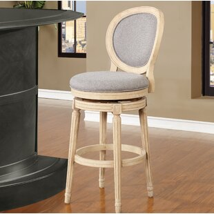 Kolar 30 Swivel Bar Stool Ophelia & Co.