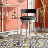 Matthews Bar & Counter Swivel Stool by Latitude Run