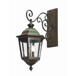 Price Check Cassandra 2-Light Outdoor Wall Lantern By 2nd Ave Design