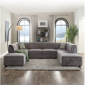 Bois Reversible Sleeper Sectional by ACME Furniture