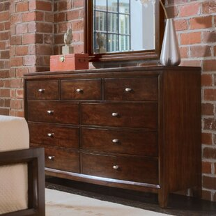 Woodlynne 9 Drawer Double Dresser